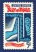Bill of Rights (stamp)