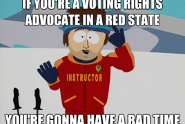 Our voting rights are under attack!